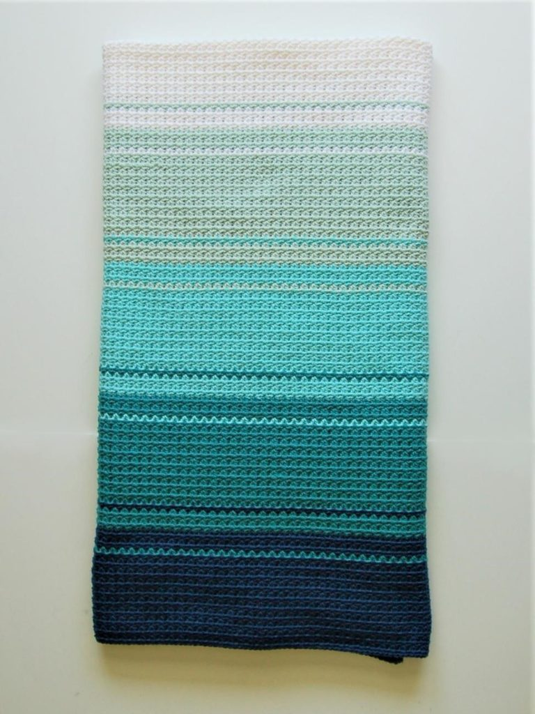 Hdc V Stitch Crochet Blanket Warmest Welcomes Crafts